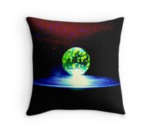 Marble spaceart 1. Throw Pillow