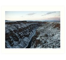 Rio Grande (New Mexico) Art Print