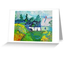 Croft House B&B, Nova Scotia Greeting Card