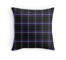 02897 Sangamon County, Illinois Tartan  Throw Pillow