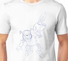 buck bumble blue Unisex T-Shirt