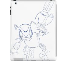 buck bumble blue iPad Case/Skin