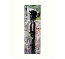 Cataract Gorge Rocks 1M Art Print