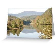 Reflections on the Blue Ridge Parkway-Va Greeting Card
