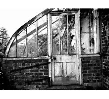 Disused Greenhouse Photographic Print