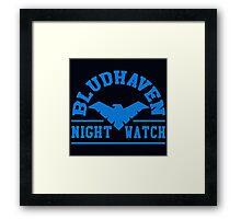 Batman - Bludhaven Blue Framed Print