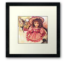 Rosalin - China Doll Framed Print