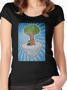 Improbable Pina Colada Women's Fitted Scoop T-Shirt