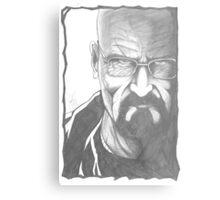 Mr Heisenberg Metal Print