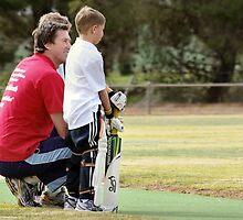 Booborowie backyard cricket by Penny-Lee Kittel