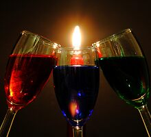 Drinks by Candlelight by Brian Dodd