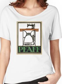 Pfaff Vintage Advertising Poster Restored Women's Relaxed Fit T-Shirt