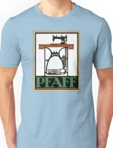 Pfaff Vintage Advertising Poster Restored Unisex T-Shirt