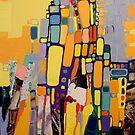 City life by Miroslava Balazova Lazarova