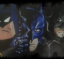 Batman - TAS, The Dark Knight & Arkham by MaximusIs1st