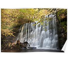 Scale Haw Falls - Hebden Poster