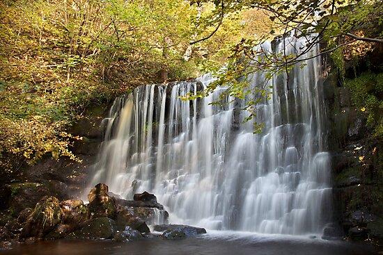 Scale Haw Falls - Hebden by SteveMG