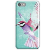 Bird watercolor digital art watercolor like iPhone Case/Skin