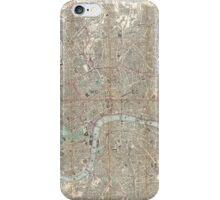 London vintage map iPhone Case/Skin
