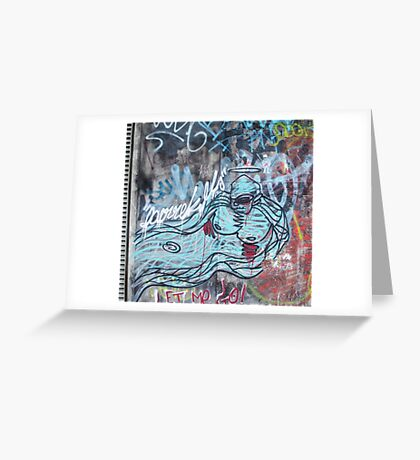 Gorilla Spirit Urban Art graffiti Greeting Card