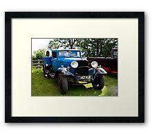 Fordson Truck  142 XUB Framed Print