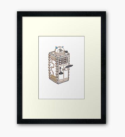 Dalek T.A.R.D.I.S. Framed Print