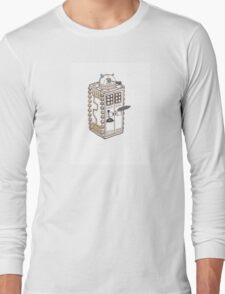 Dalek T.A.R.D.I.S. Long Sleeve T-Shirt