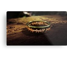 Lord Of The Rings Metal Print
