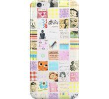 Cute Inchie Collage Pattern iPhone Case/Skin