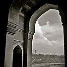 Tomb gate by abhayemadhok