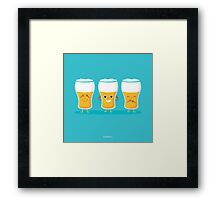 three wise pints Framed Print