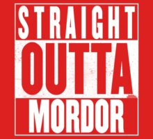 STRAIGHT OUTTA MORDOR One Piece - Short Sleeve
