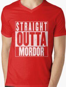 STRAIGHT OUTTA MORDOR Mens V-Neck T-Shirt