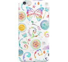 Floral Butterfly iPhone Case/Skin