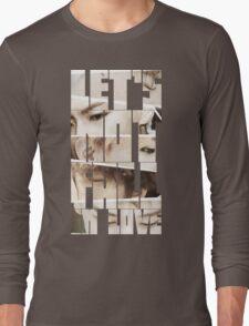 Bigbang MADE Series E 'Let's Not Fall in Love' Long Sleeve T-Shirt