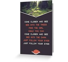 A Forest Greeting Card