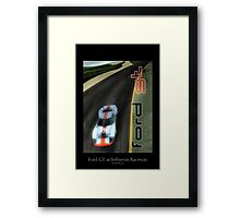 Ford GT at Infineon Raceway Framed Print