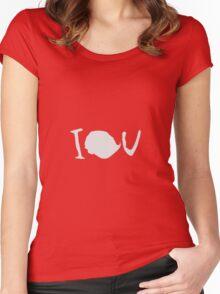 IOU - Sherlock  Women's Fitted Scoop T-Shirt