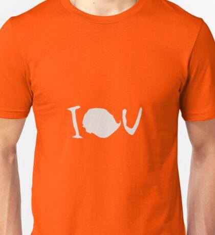 IOU - Sherlock  Unisex T-Shirt