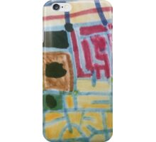 Map of Marks and Blocks iPhone Case/Skin