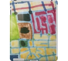Map of Marks and Blocks iPad Case/Skin
