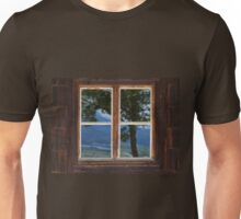 Reflection in the Window Unisex T-Shirt