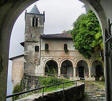 Eremo di Santa Caterina al Sasso - The Church facade by sstarlightss