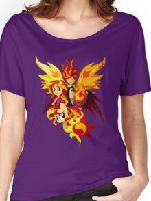 Sunset Shimmer Women's Relaxed Fit T-Shirt
