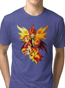 Sunset Shimmer Tri-blend T-Shirt