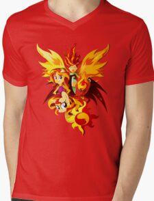 Sunset Shimmer Mens V-Neck T-Shirt