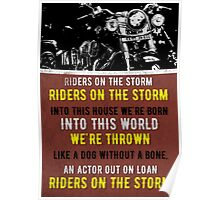 Riders On The Storm Poster