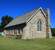 Stone Church on the Prairies by rhamm