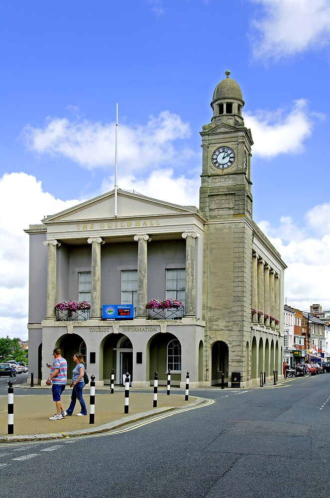 The Guild Hall, Newport by Rod Johnson