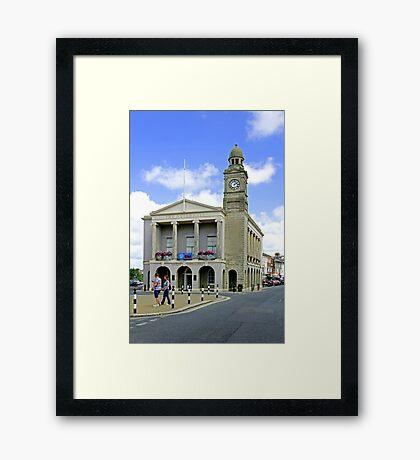 The Guild Hall, Newport Framed Print